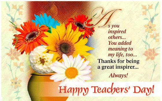 Поздравление с днем учителя учителю английского на английском